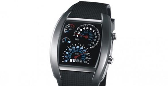 Max Speed Speedometer Car Watch